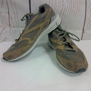 Abeo Smart System 3310 Men's Athletic Brown Shoes